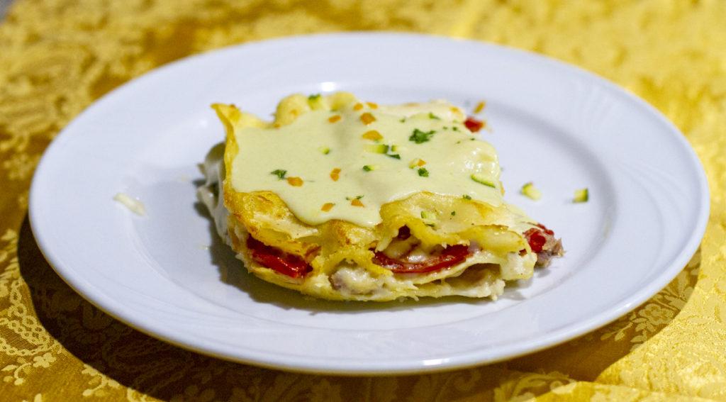 falode-lasagna-asparagi-pomodorini-salsiccia